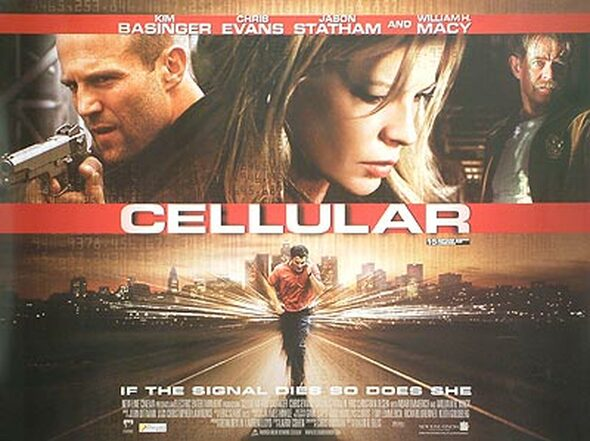 CELLULAR (Double Sided) ORIGINAL CINEMA POSTER