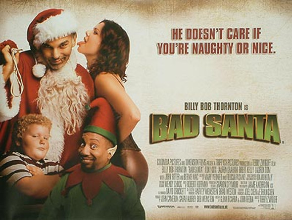 BAD SANTA ORIGINAL CINEMA POSTER