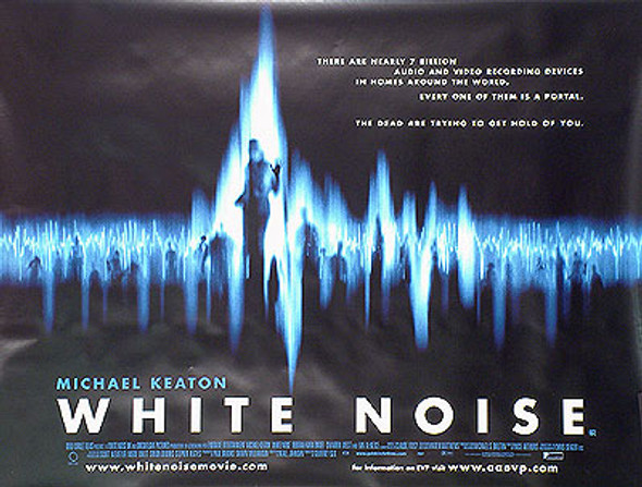 WHITE NOISE (SINGLE SIDED) ORIGINAL CINEMA POSTER