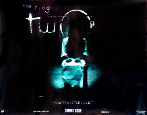 THE RING TWO (DOUBLE SIDED) ORIGINAL CINEMA POSTER