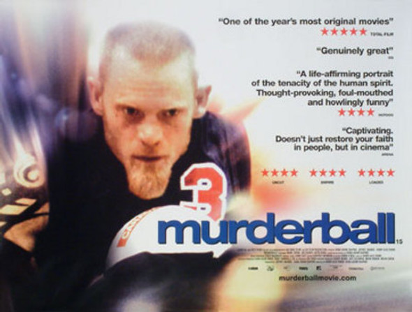MURDERBALL (Single Sided) ORIGINAL CINEMA POSTER
