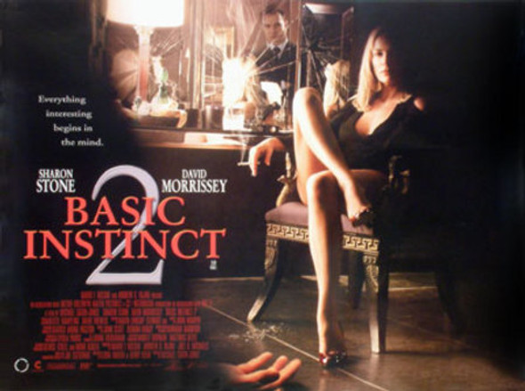 BASIC INSTINCT 2 (SINGLE SIDED) ORIGINAL CINEMA POSTER