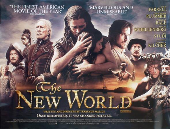 THE NEW WORLD ORIGINAL CINEMA POSTER
