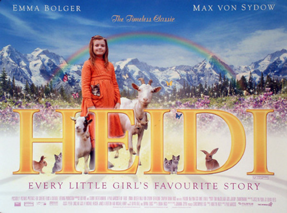 HEIDI ORIGINAL CINEMA POSTER