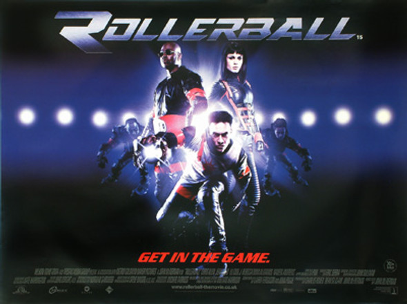 ROLLERBALL ORIGINAL CINEMA POSTER