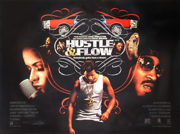 HUSTLE & FLOW ORIGINAL CINEMA POSTER