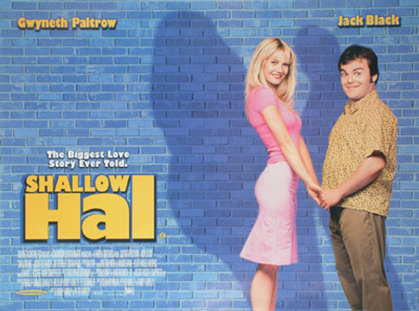 SHALLOW HAL ORIGINAL CINEMA POSTER