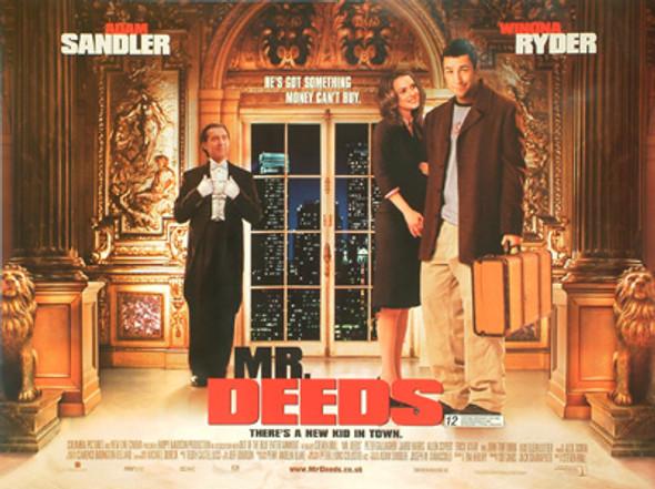 MR. DEEDS (DOUBLE SIDED) ORIGINAL CINEMA POSTER