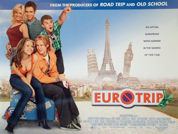 EURO TRIP ORIGINAL CINEMA POSTER
