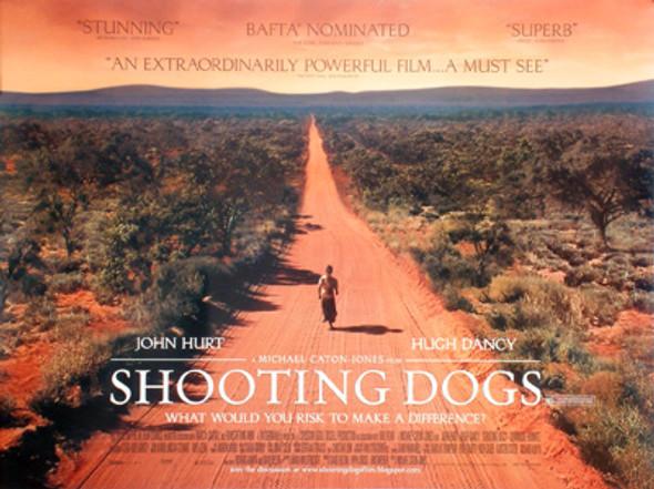 SHOOTING DOGS ORIGINAL CINEMA POSTER