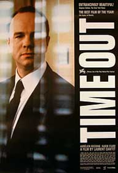 TIME OUT (Single Sided) ORIGINAL CINEMA POSTER
