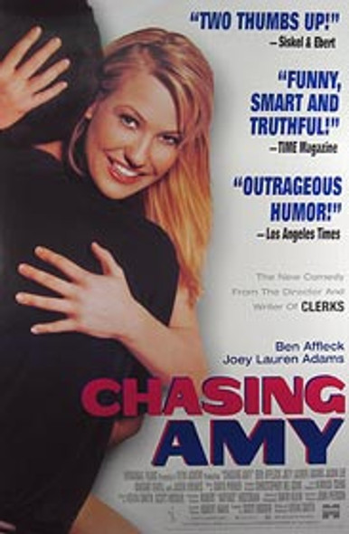 CHASING AMY (Video) ORIGINAL VIDEO/DVD AD POSTER