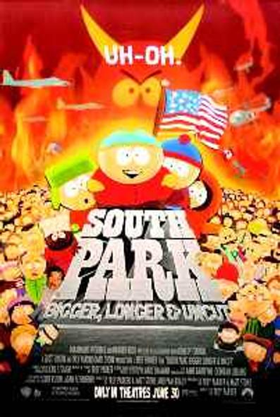 SOUTH PARK ORIGINAL CINEMA POSTER