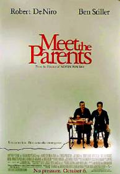 MEET THE PARENTS (DOUBLE SIDED) ORIGINAL CINEMA POSTER