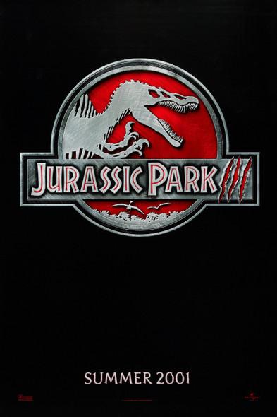 Jurassic Park III (Advance) Original Cinema Poster