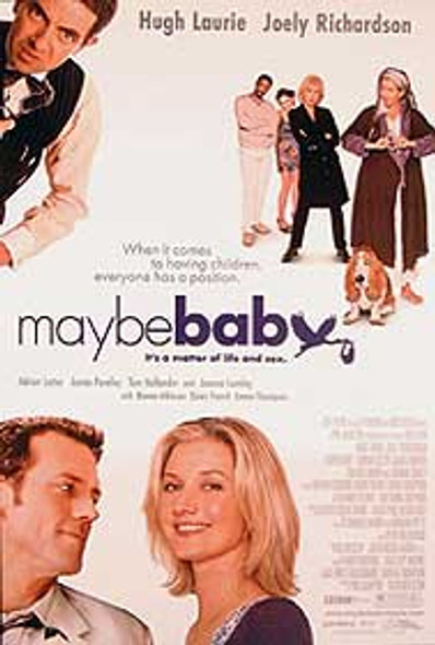 MAYBE BABY ORIGINAL CINEMA POSTER