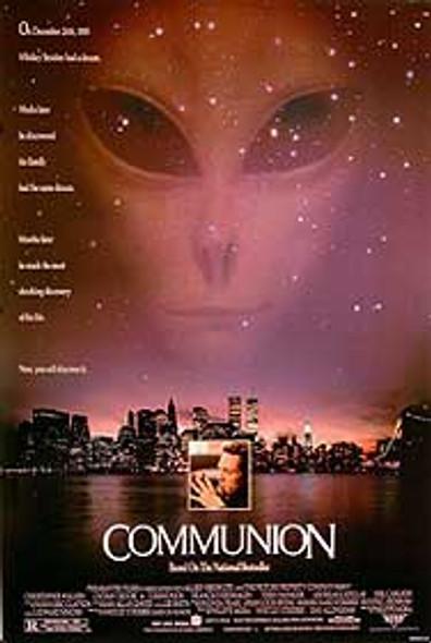COMMUNION (SINGLE SIDED) ORIGINAL CINEMA POSTER