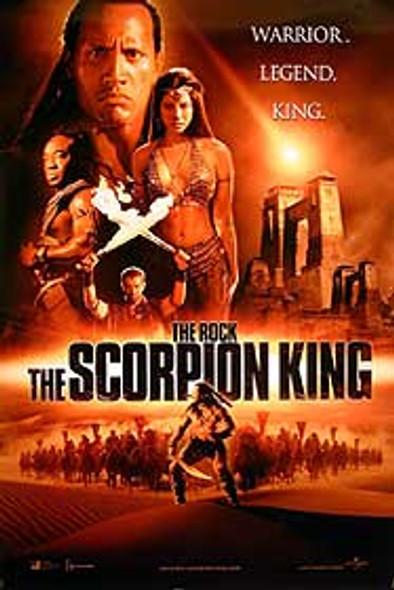 THE SCORPION KING (Advance B Double Sided) ORIGINAL CINEMA POSTER