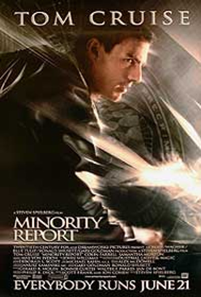 MINORITY REPORT (Style B Single Sided) ORIGINAL CINEMA POSTER
