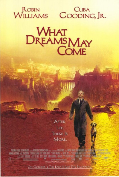 WHAT DREAMS MAY COME (Single Sided Regular) ORIGINAL CINEMA POSTER