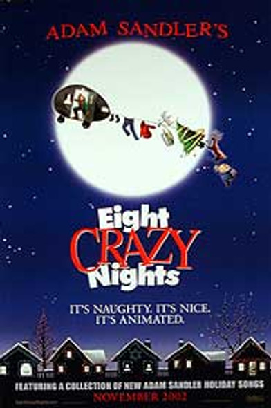 EIGHT CRAZY NIGHTS (Double Sided Advance) ORIGINAL CINEMA POSTER