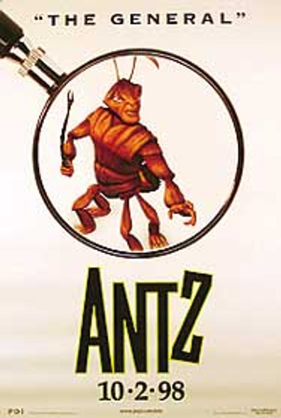 ANTZ (Single Sided Style C) ORIGINAL CINEMA POSTER
