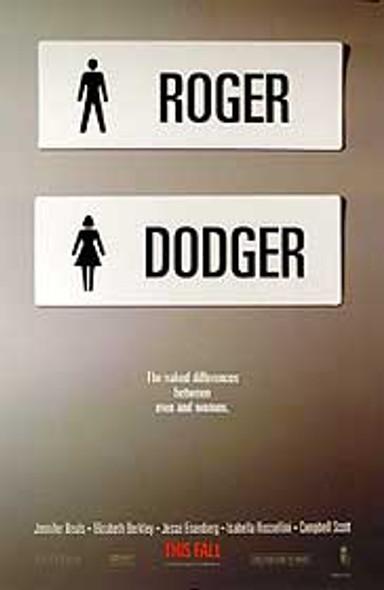 ROGER DODGER (Double Sided Advance) ORIGINAL CINEMA POSTER