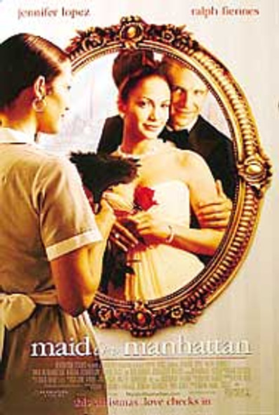 MAID IN MANHATTAN (Double Sided Regular) ORIGINAL CINEMA POSTER