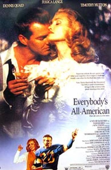 EVERYBODY'S ALL-AMERICAN (Single Sided Regular) ORIGINAL CINEMA POSTER