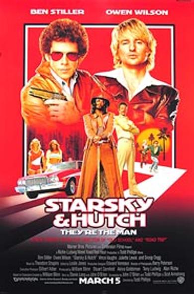 STARSKY & HUTCH (Double Sided Regular) ORIGINAL CINEMA POSTER