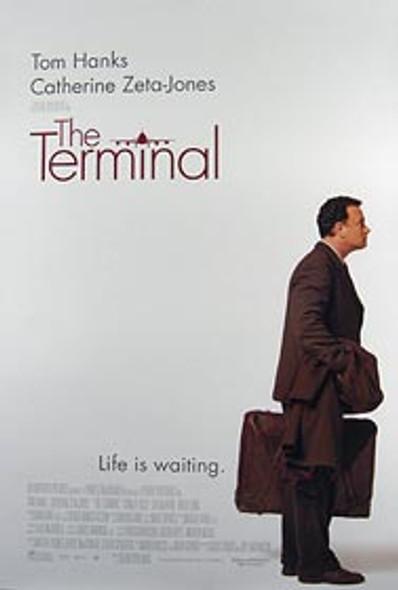 THE TERMINAL (Double Sided Regular) ORIGINAL CINEMA POSTER