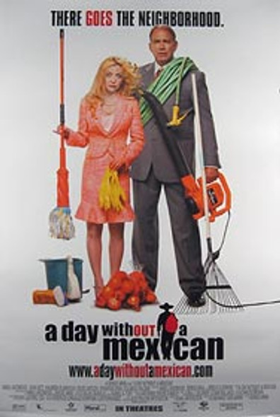 A DAY WITHOUT A MEXICAN (Single Sided Regular) ORIGINAL CINEMA POSTER
