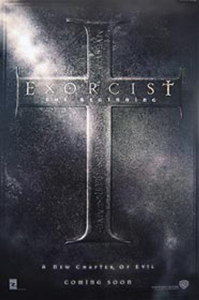 EXORCIST: THE BEGINNING (Double Sided Advance) ORIGINAL CINEMA POSTER