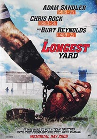 THE LONGEST YARD (Double Sided Advance) ORIGINAL CINEMA POSTER