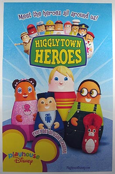 HIGGLYTOWN HEROES (Single Sided) ORIGINAL CINEMA POSTER