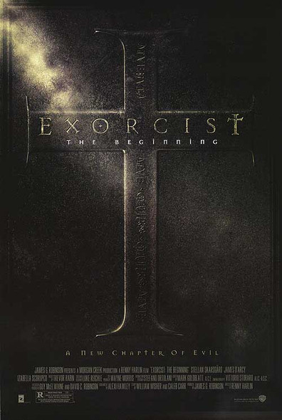 THE EXORCIST: THE BEGINNING (Double Sided Regular) ORIGINAL CINEMA POSTER