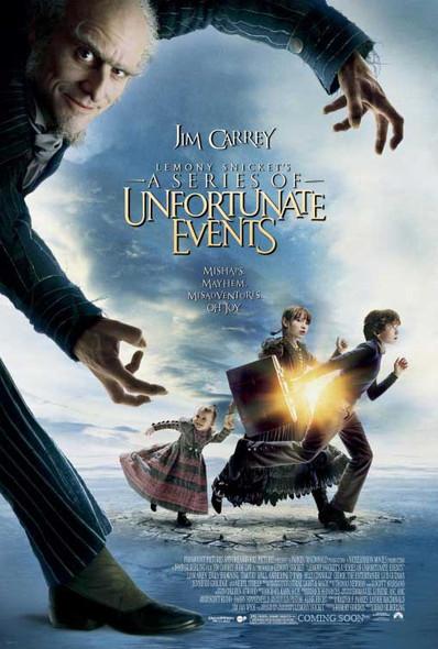 LEMONY SNICKETT'S A SERIES OF UNFORTUNATE EVENTS (DS INTL) ORIGINAL CINEMA POSTER