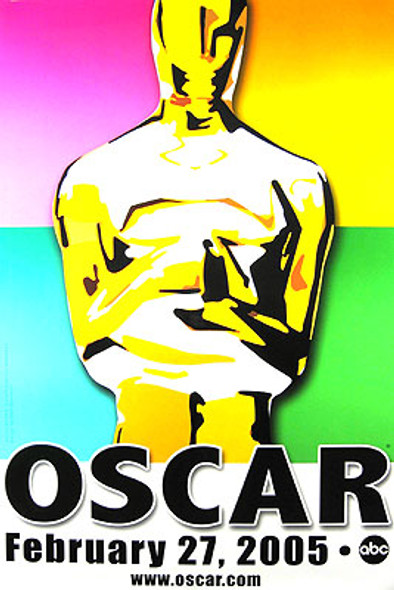 ACADEMY AWARDS 2005 (Single Sided) (UV COATED/HIGH GLOSS) ORIGINAL CINEMA POSTER