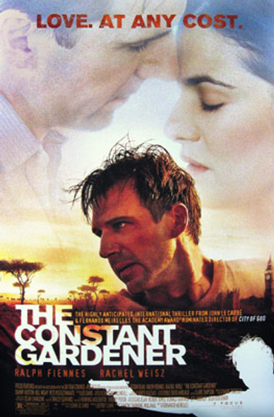 THE CONSTANT GARDENER (Double Sided Regular) ORIGINAL CINEMA POSTER