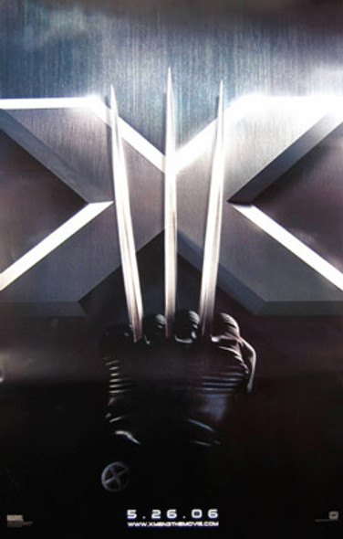 X-MEN 3 (Double Sided Advance) ORIGINAL CINEMA POSTER