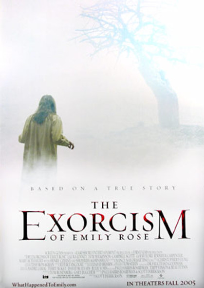 THE EXORCISM OF EMILY ROSE (Single Sided Regular) ORIGINAL CINEMA POSTER