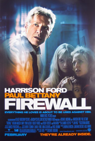 FIREWALL (Double-sided Regular) ORIGINAL CINEMA POSTER