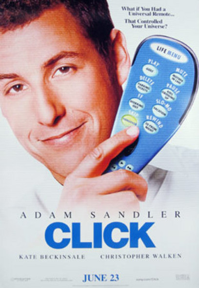 CLICK (Double-sided Advance) ORIGINAL CINEMA POSTER