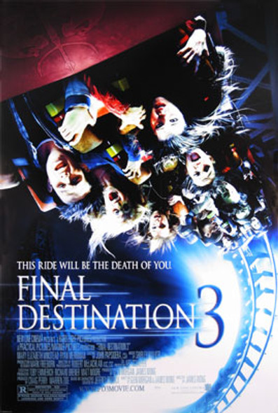 FINAL DESTINATION 3 (Single-sided Regular) ORIGINAL CINEMA POSTER