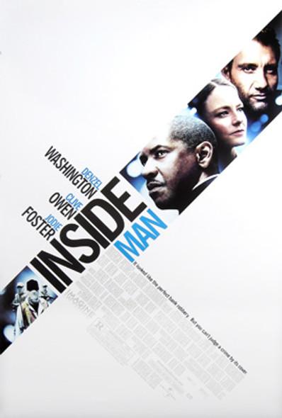 INSIDE MAN (Double Sided Regular) ORIGINAL CINEMA POSTER