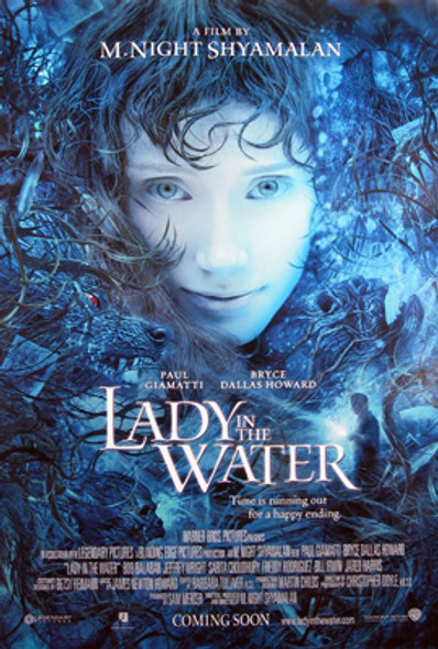 LADY IN THE WATER (Double Sided Regular) ORIGINAL CINEMA POSTER