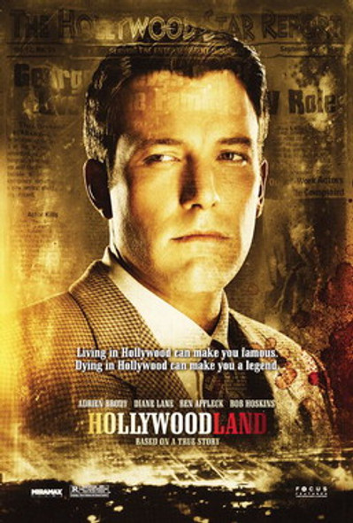 HOLLYWOODLAND (Double Sided Regular) ORIGINAL CINEMA POSTER