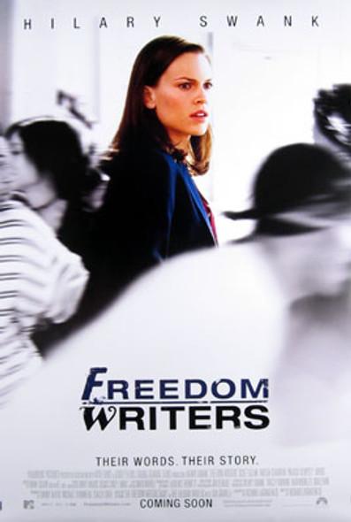 FREEDOM WRITERS (Double Sided International) ORIGINAL CINEMA POSTER