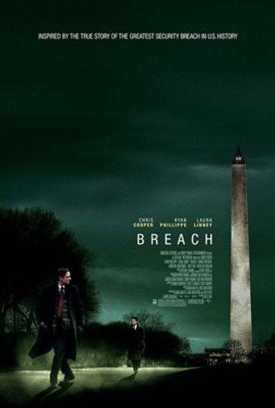 BREACH (Double Sided Regular) ORIGINAL CINEMA POSTER