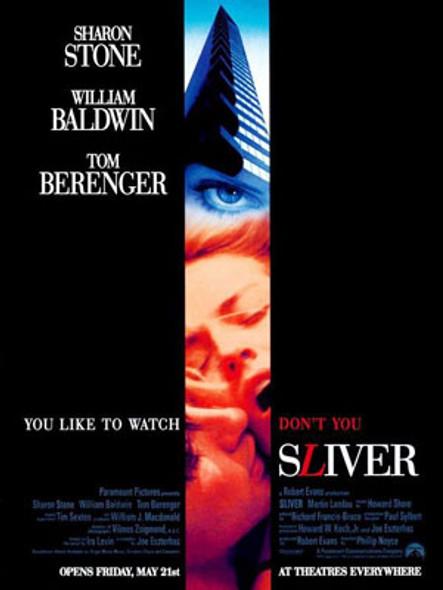 SLIVER (Double Sided Regular) ORIGINAL CINEMA POSTER
